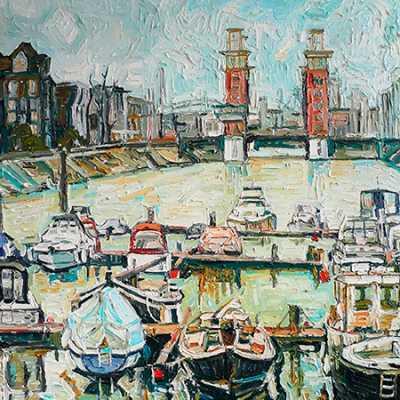 Marina Hafen Duisburg